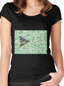 William Morris x 2 Symbols Women's Fitted Scoop T-Shirt