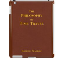 The Philosophy of Time Travel iPad Case/Skin