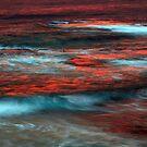 Sunset over Ocean by helmutk