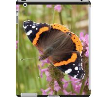 Red Admiral Wings Spread iPad Case/Skin