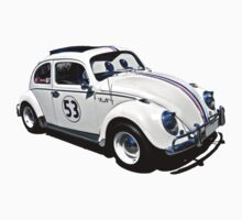 Herbie the Volkswagen (Replica) Kids Clothes
