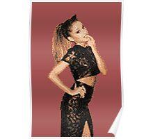 8-Bit Ariana (#1) Poster