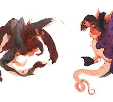 Dragon Doodles by Tiffany England