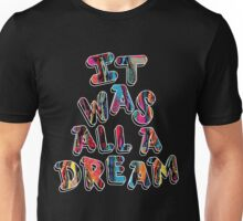 NOTORIOUS B.I.G. IT WAS ALL A DREAM GRAPHIC T SHIRT Unisex T-Shirt
