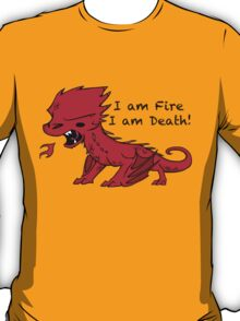 Baby Smaug - I am Fire, I am Death T-Shirt