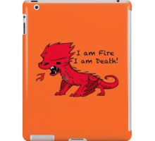 Baby Smaug - I am Fire, I am Death iPad Case/Skin