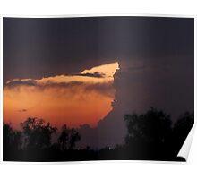 dusk over seminole 6/15/10 Poster