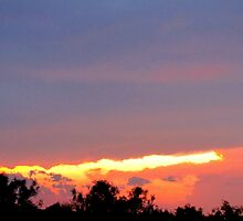 sunset,6/15/10 by gabbielizzie