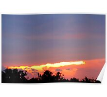 sunset,6/15/10 Poster
