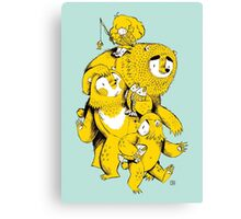 The Three Bears Canvas Print
