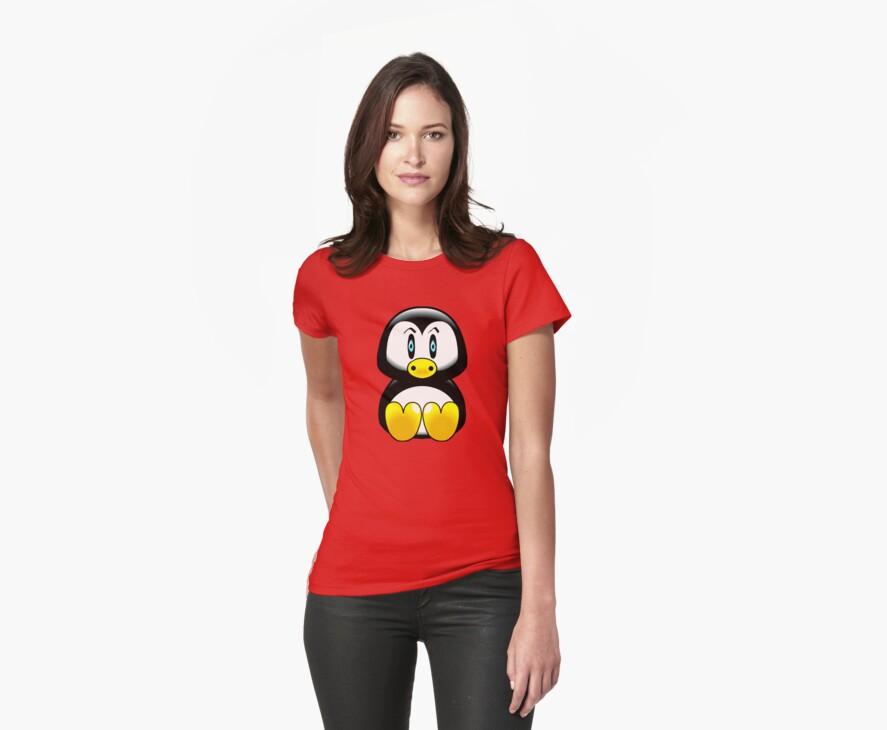 penguin t-shirt by ralphyboy