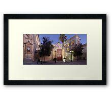 Vilhena Palace Framed Print