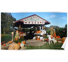 Shiloh Farm in Longbranch Washington Poster