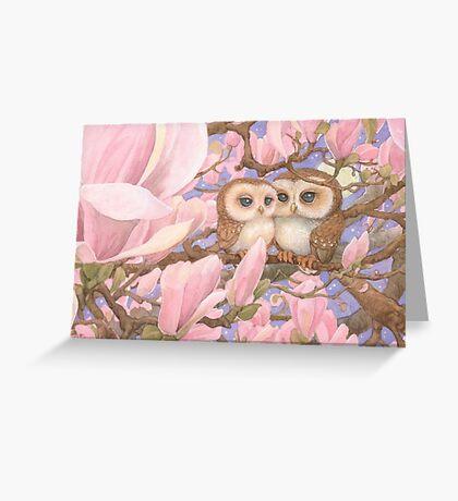 Love Owls Greeting Card