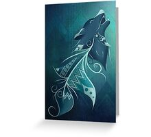 Wolfeather Greeting Card