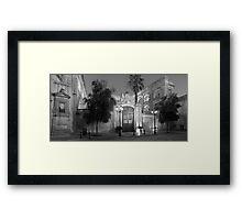 Vilhena Palace monochrome Framed Print