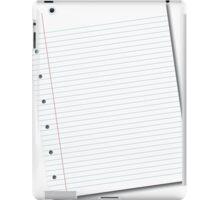 notebook paper iPad Case/Skin