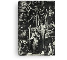 Catherine and the Wheel Canvas Print