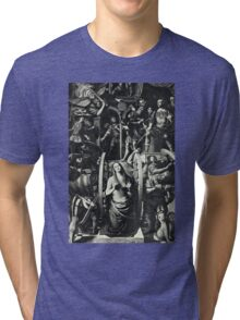 Catherine and the Wheel Tri-blend T-Shirt