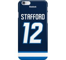 Winnipeg Jets Drew Stafford Jersey Back Phone Case iPhone Case/Skin