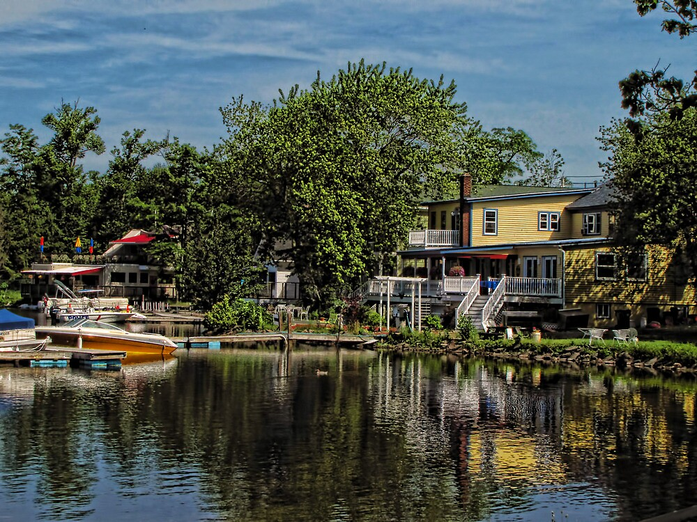 Lakeside Cafes by Pamela Phelps