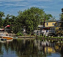 Lakeside Cafes by Pamela Phelps
