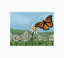 Butterfly in the field Unisex T-Shirt