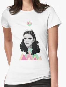 Dorothy //pastel triangles Womens Fitted T-Shirt