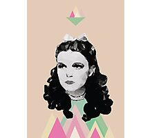 Dorothy //pastel triangles Photographic Print