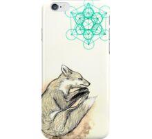 Sleeping fox iPhone Case/Skin