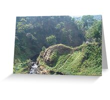Lao hills Greeting Card