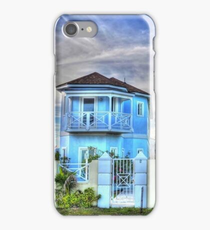 Ocean Front Houses on Eastern Road at Yamacraw Beach - Nassau, The Bahamas iPhone Case/Skin