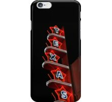 Texas Theater iPhone Case/Skin