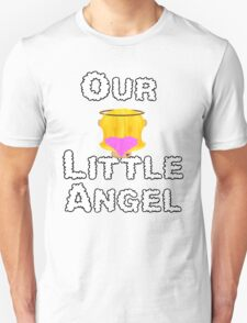 Our Little Angel Sitting on Cloud Blonde Girl T-Shirt