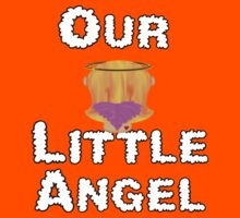 Our Little Angel Sitting on Cloud Strawberry Blonde Girl Kids Clothes