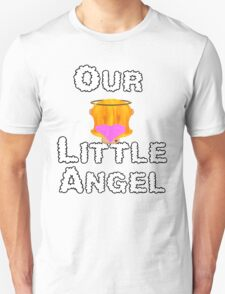 Our Little Angel Sitting on Cloud Strawberry Blonde Girl T-Shirt