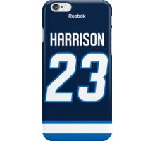 Winnipeg Jets Jay Harrison Jersey Back Phone Case iPhone Case/Skin