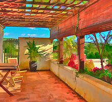 Patio, Late Afternoon by Rory Kirk