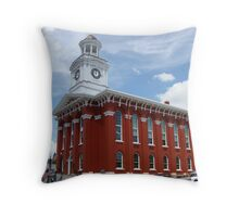 Time and History Throw Pillow
