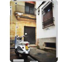 Cordoba scooter iPad Case/Skin