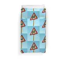 Traffic Sign Duvet Cover
