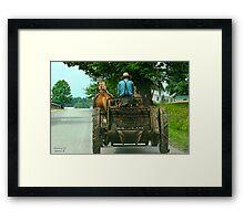 """"""" Here I Go Again """" Framed Print"""