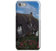 Thatched Cottage, Cadgwith, Cornwall iPhone Case/Skin
