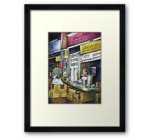 Emotionally Charged Forces of Light, Singapore Framed Print