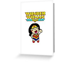 Wonder Woman! Greeting Card