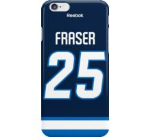Winnipeg Jets Matt Fraser Jersey Back Phone Case iPhone Case/Skin