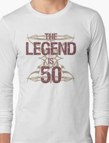 Men's Funny 50th Birthday Long Sleeve T-Shirt