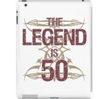 Men's Funny 50th Birthday iPad Case/Skin