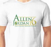 Vote Allen/Jordan 2016 Unisex T-Shirt