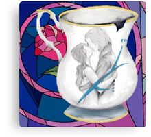 Rumbelle Forever Chipped Cup Canvas Print